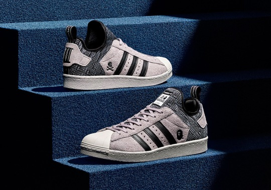 BAPE And Neighborhood Join Forces On The adidas Superstar Boost