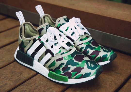 Links For BAPE x adidas NMD Release In Europe