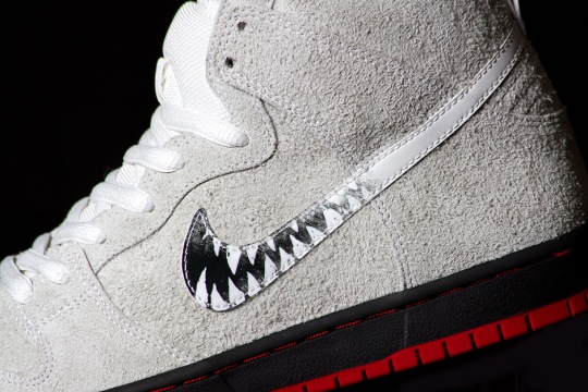 Black Sheep's Nike SB Dunk High Features Scratch Off Swooshes