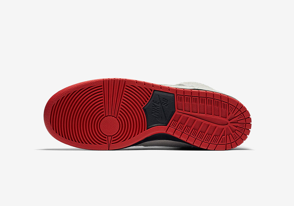 Nike Sb Dunk Høye Toppen Hvit Berørings nsm3P4FmBR
