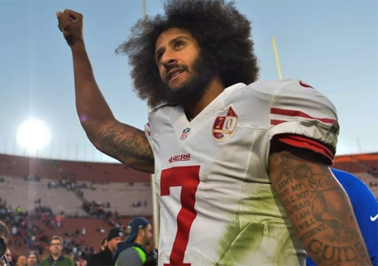 Colin Kaepernick Just Donated His Entire Sneaker Collection
