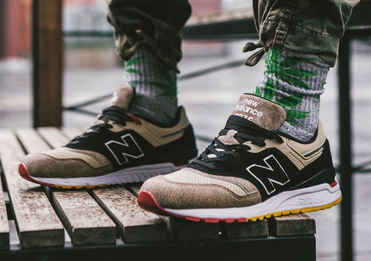DEAL Teams Up With Graffiti Crew 400ml To Rework The New Balance 997.5