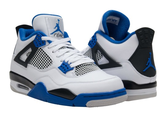 "The Air Jordan 4 ""Motorsports"" Pops Up Early"