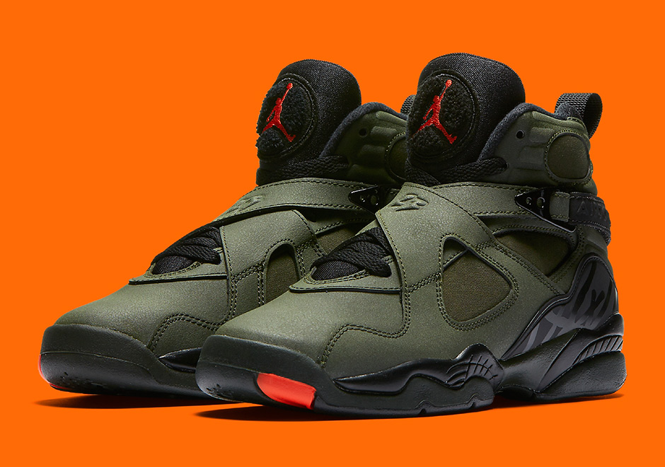 huge discount 1f76f cdb14 ... low cost air jordan 8 sequoia is now available via nike early access  sneakernews 1780c acc33