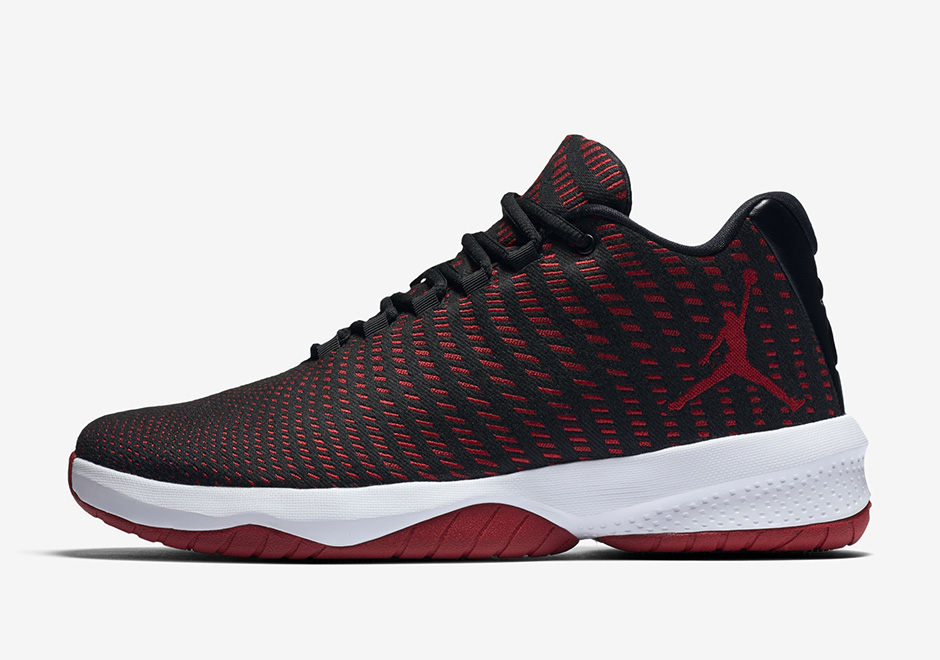 "447f1da58b2a Jordan B. Fly ""Bred""  110. Color  Black Dark Grey White Gym Red Style Code   881444-002. Buy on Nike.com"