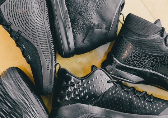 Closer Look At Jordan Brand's All-Black PE Collection For MLK Day