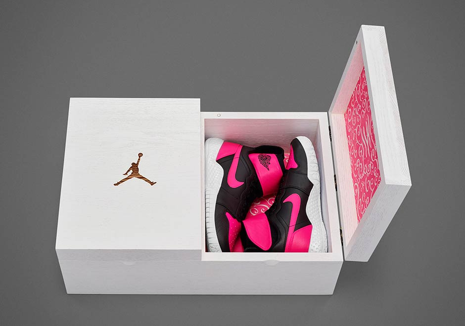 18426e9d8b84f Nike And Jordan Celebrate Serena Williams  23rd Victory With Special  Footwear - SneakerNews.com
