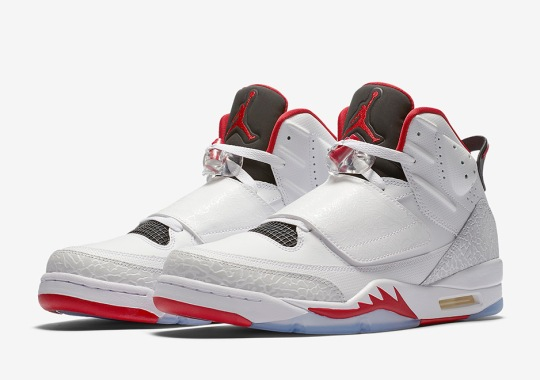 "Jordan Son Of Mars ""Fire Red"" Releases In February"