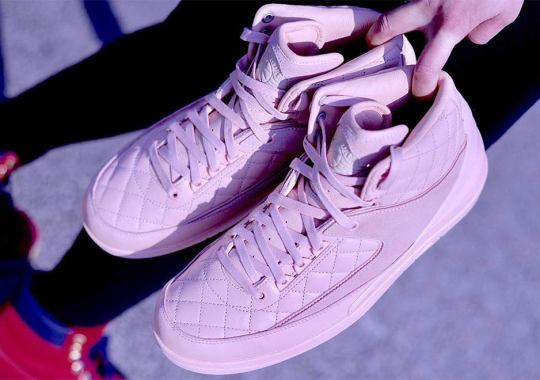 Another Look At The Pink Just Don x Air Jordan 2