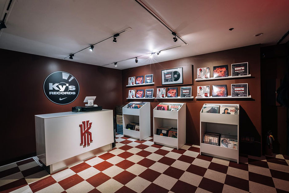 nike ky 39 s records 306 bowery. Black Bedroom Furniture Sets. Home Design Ideas