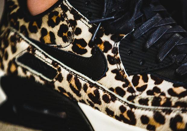 air max 90 leopard black sail