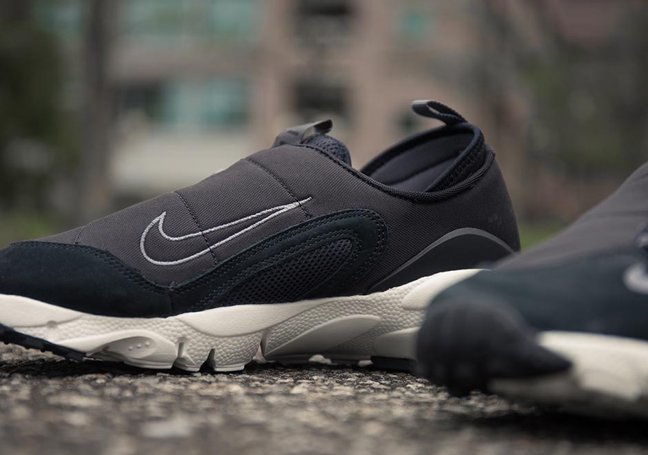 new concept bdb18 91891 The Nike Air Footscape NM Returns In Clean Black