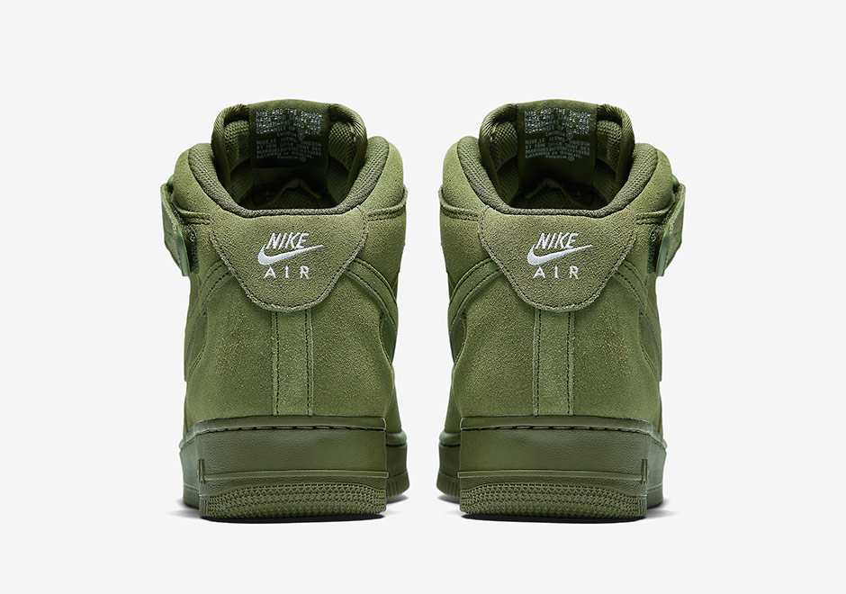 22c9b1c02e5 ... Olive Green Nike Air Force 1 Mid 07 .