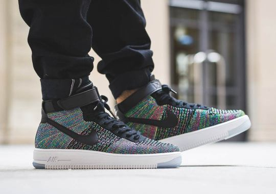 pesadilla Bolos Predicar  Nike Air Force 1 Flyknit Mid - Tag | SneakerNews.com