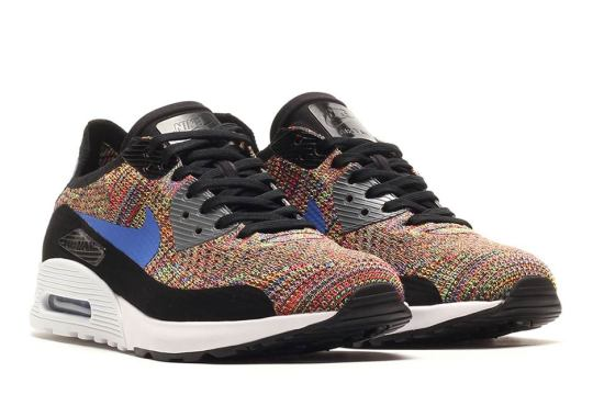 "Nike Air Max 90 Flyknit ""Multi-Color"""