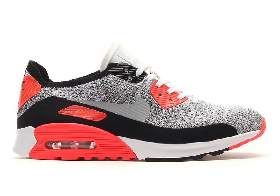 Nike Air Max 90 Flyknit Infrared 881109 100 |