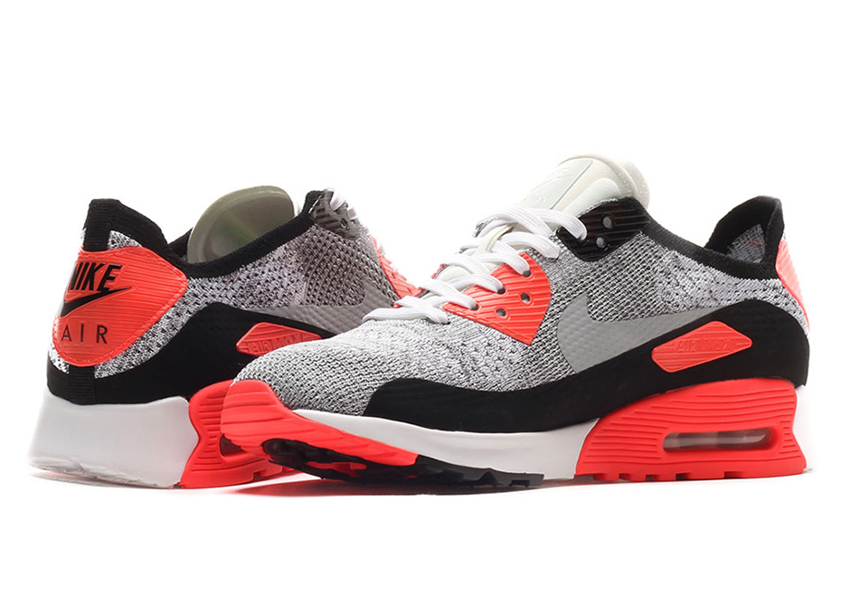 air max 90 flyknit red
