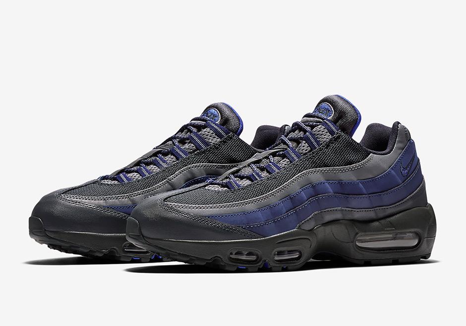 nike air max 95 essential blue grey