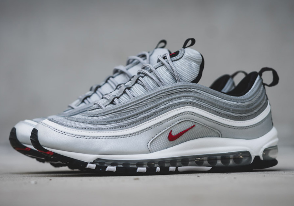 "Nike Air Max 97 ""Silver Bullet"" Releasing Again On January 14th"