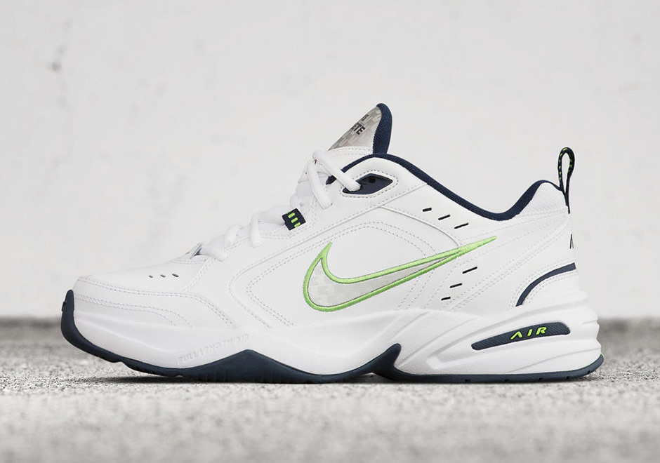34dc8ac79cd0 Nike Air Monarch IV Seattle Seahawks Pete Carroll Shoes ...