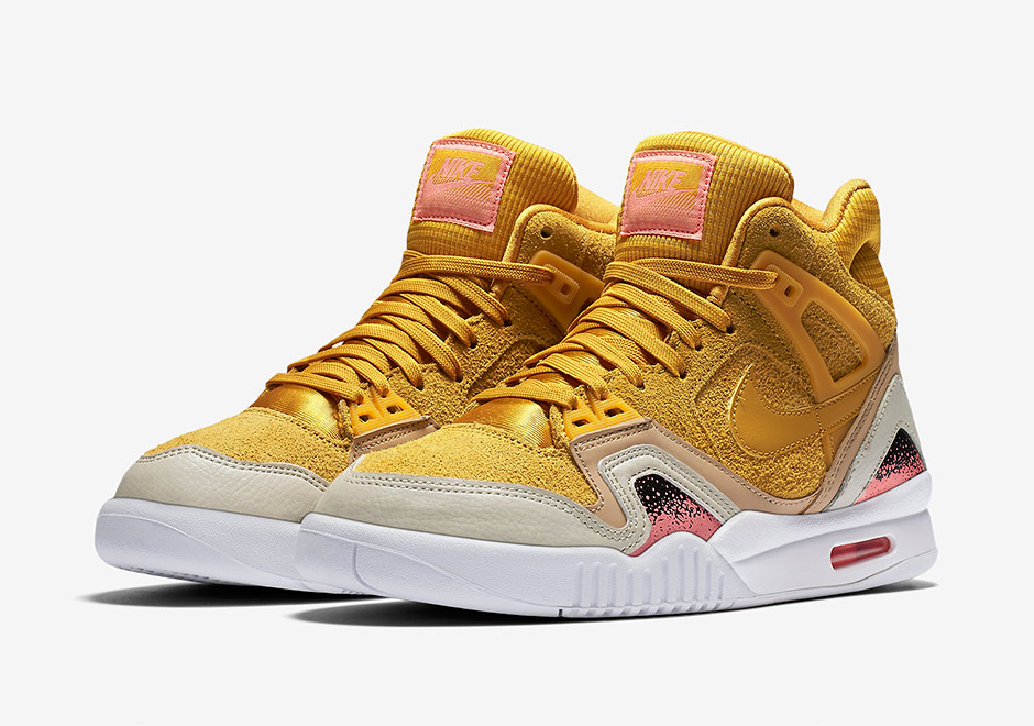 74e44ca60790 Nike Air Tech Challenge II Gold Dart Women s 857879-700 ...