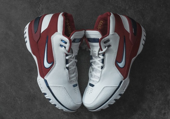 """The Nike Air Zoom Generation """"First Game"""" Is Releasing At KITH And Other Sneaker Boutiques"""