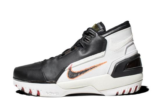 This Is What LeBron's First Nike Shoe Was Supposed To Look Like