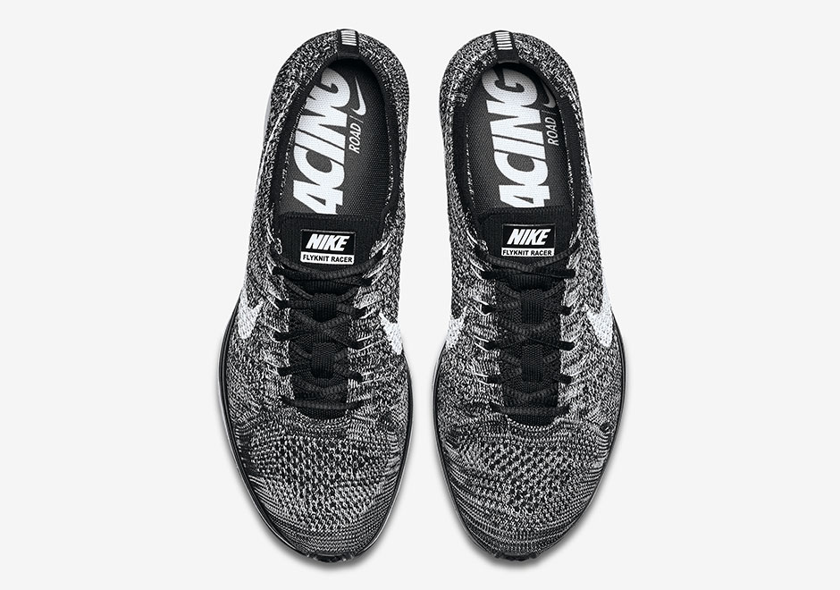 47ebc3737c5ad2 Nike Flyknit Racer Oreo 2.0 Release Date 526628-012