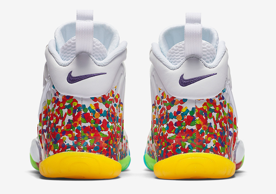 sneakers for cheap 09547 a6794 Nike Little Posite Pro Fruity Pebbles 644792-101   SneakerNews.com
