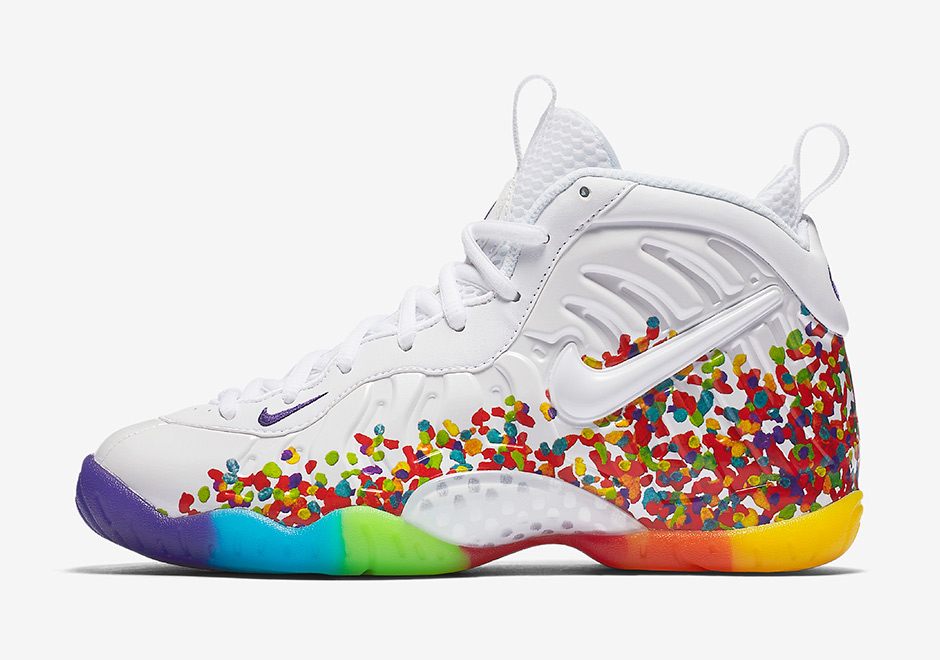 8d7ee9d912a ... Hey Penny White Black 644791-101 Gs 7y Air Foamposite One Lil Penny  (GS) Nikes Fruity Pebbles Foamposites Release Tomorrow ...