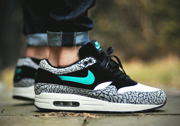 """sale retailer f29dc c0c18 atmos x Nike Air Max 1 """"Elephant"""" - March 18th Release Info ..."""