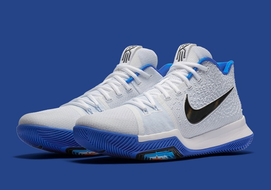 The Latest Duke-Inspired Kyrie 3 Colorway Releases February 1st