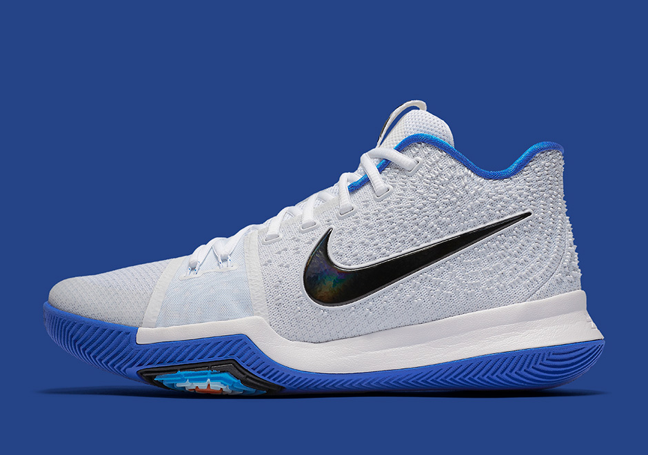 reputable site 53ce5 73c4e Nike Kyrie 3 Duke Release Date 852395-102 | SneakerNews.com