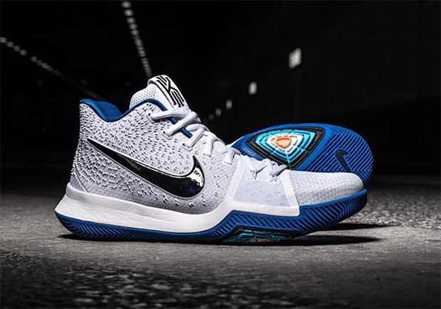 "factory authentic e778e 0d87b Nike Kyrie 3 ""Hyper Cobalt"" Releases In February"