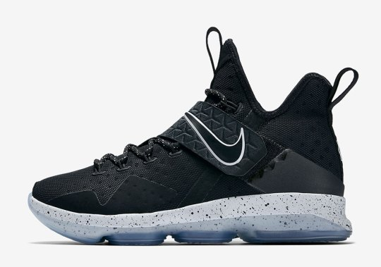 "Official Images Of The Nike LeBron 14 ""Black Ice"""
