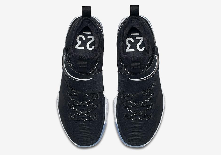 aa18bd0ebb3f Nike LeBron 14 Black Ice 852405-002 Release Date