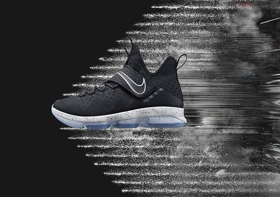 7dc04aabdabe3 Nike LeBron 14 Black Ice Where To Buy