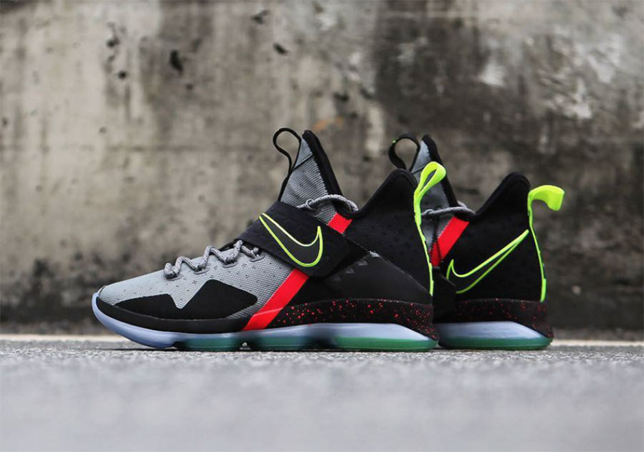 Nike LeBron 14 Out Of Nowhere Detailed Images  a7de38960