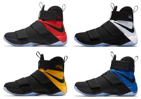 Preview Upcoming Colorways Of The Nike LeBron Soldier 10 For 2017