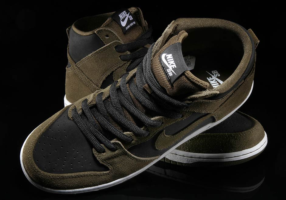 1df30fc08fdb Nike SB Dunk High Dark Loden 854851-330
