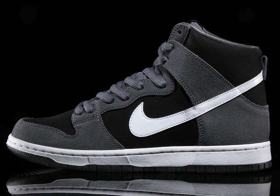 Nike SB Dunk High Dark Grey Black White