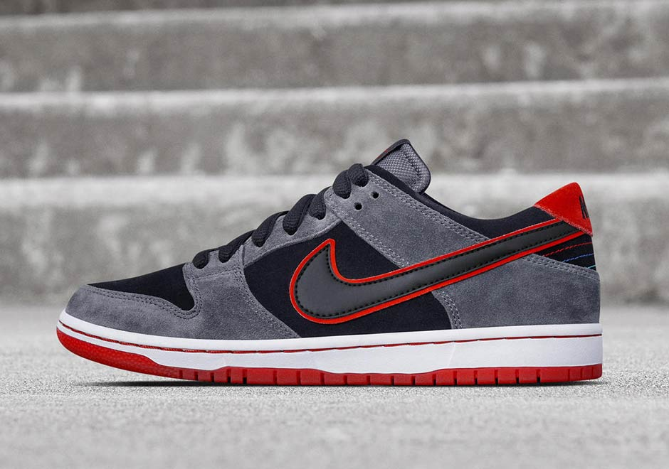 05028ee4d2d3 Nike SB team rider Ishod Wair s latest Dunk Low colorway gets a sporty  look. That s because it s inspired by his collection of European sports  cars ...