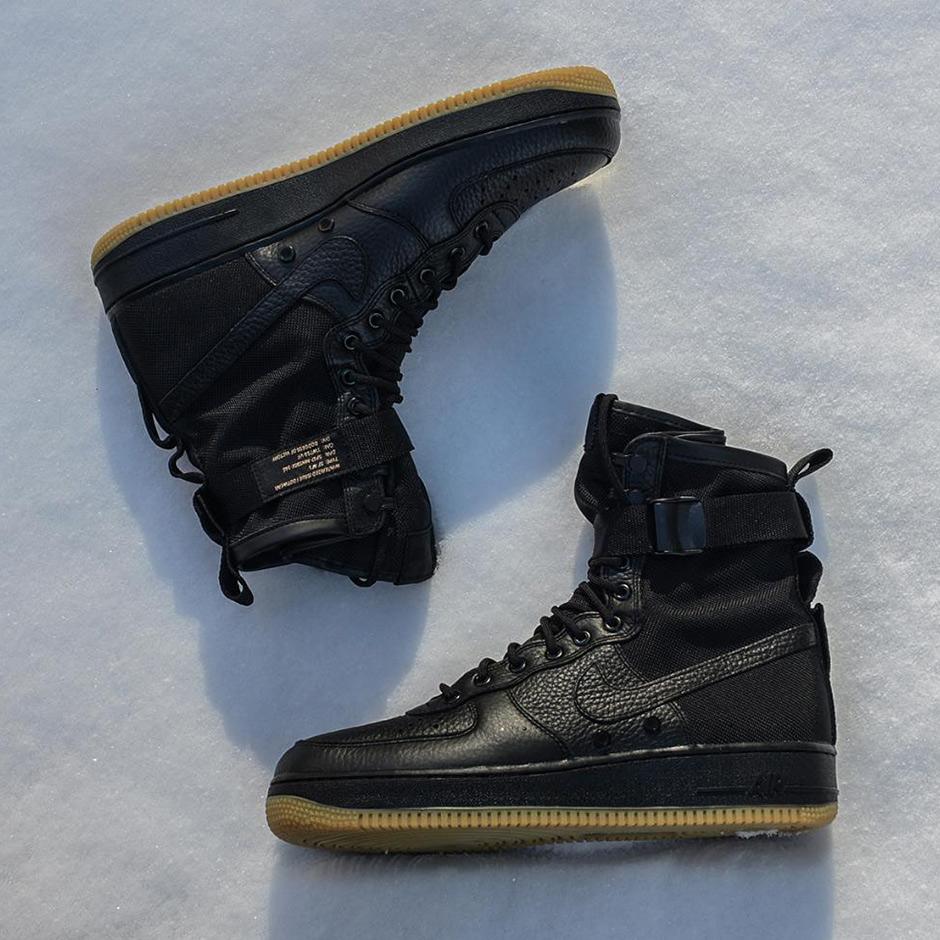 Nike Special Field Air Force 1 Black Gum SF AF1 sneakers