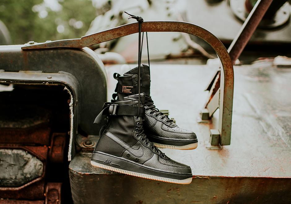 4951cb3c8b5 Nike SF-AF1 Black Gum Release Date 864024-001