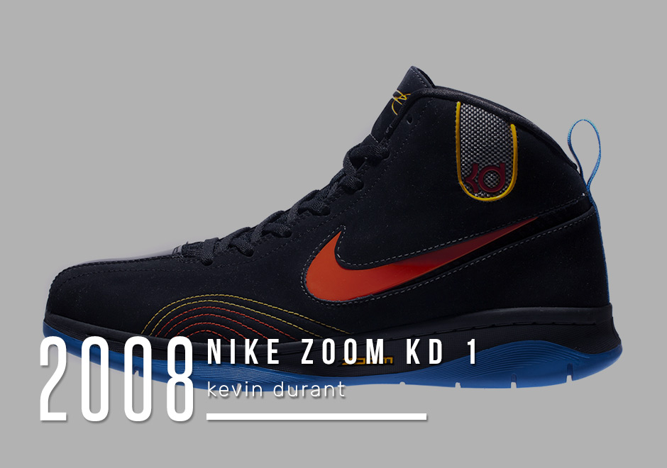 buy online eccf9 87c09 Kevin Durant – KD 1 – 2008. Nike put faith in a ...