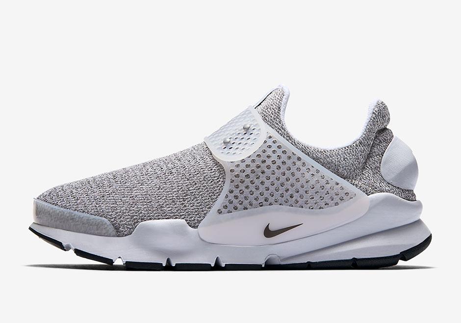 "Nike WMNS Sock Dart ""Metro Grey"" Release Date Coming Soon $130. Color:  Metro Grey/White-Black"
