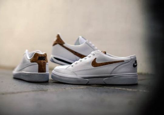 Nike Brings Cork Detailing To Three Classic Tennis Shoes
