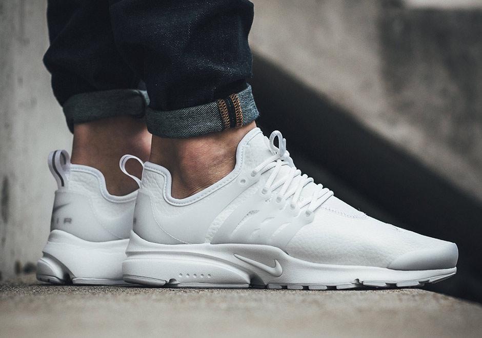 Nike Air Presto White Leather 878071