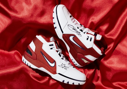 LeBron James And UNKNWN Miami Are Raffling Autographed Air Zoom Generations