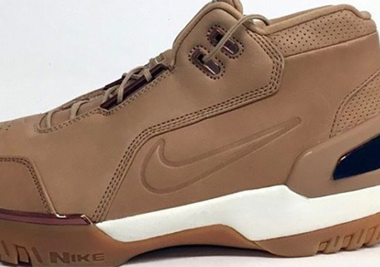"The Nike Air Zoom Generation ""Vachetta Tan"" Releases All-Star Weekend"